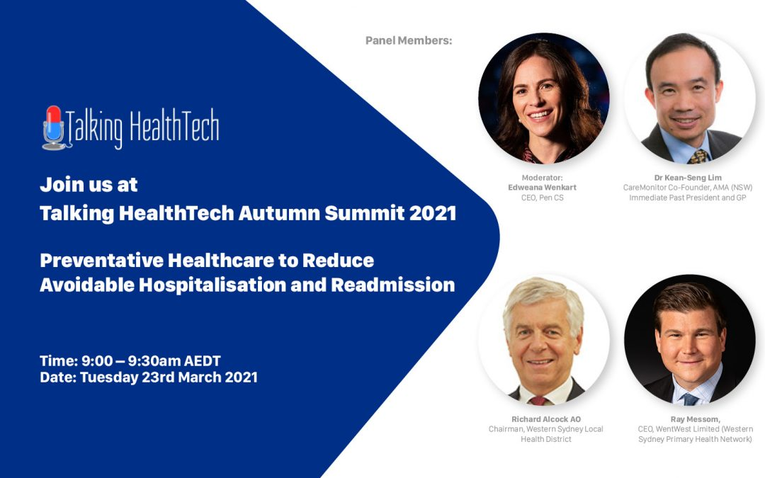 Pen CS at Talking HealthTech Autumn Summit 2021