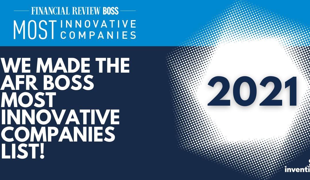 Pen CS Named on the 2021 AFR Boss Most Innovative Companies List